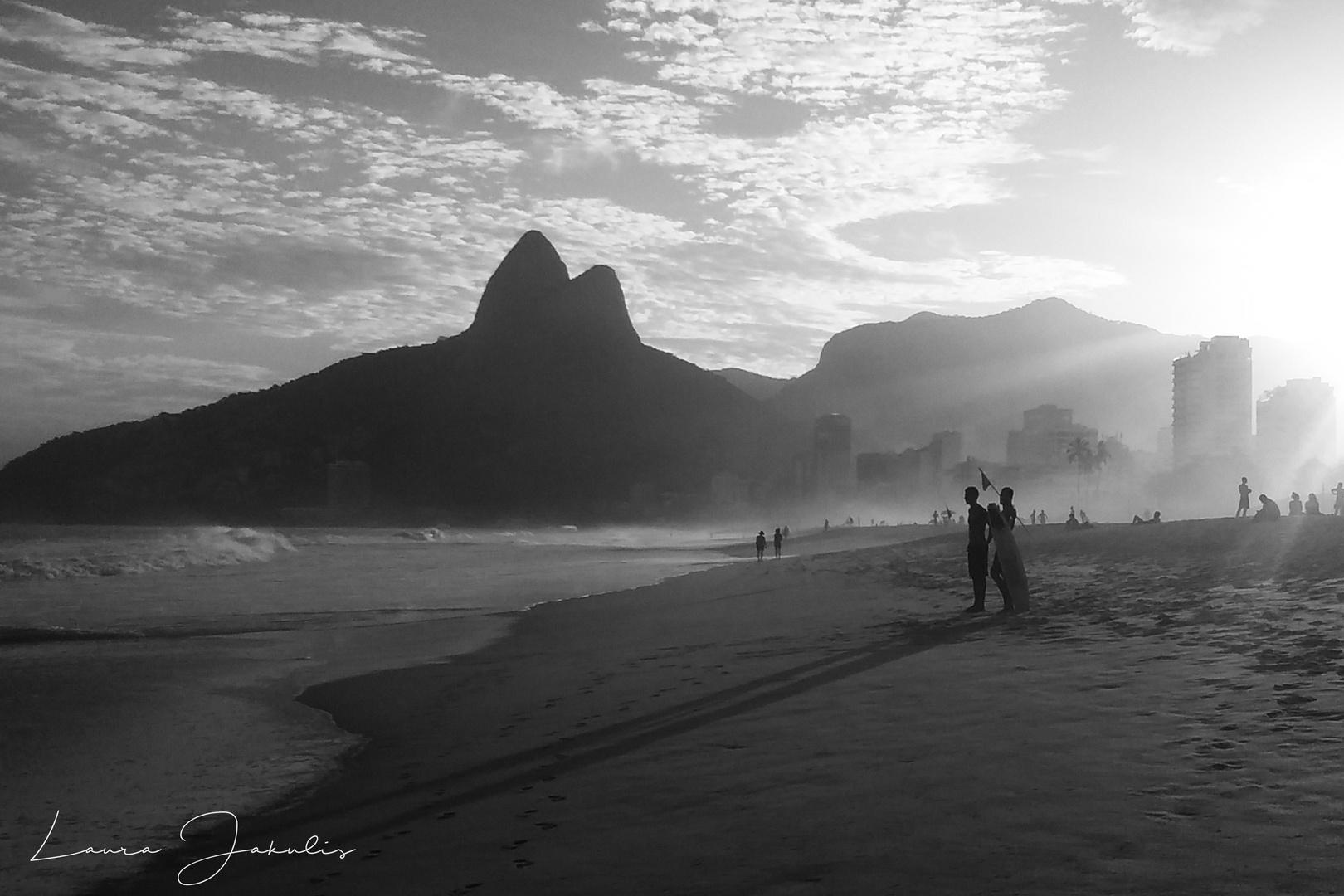 Atardecer en Río...