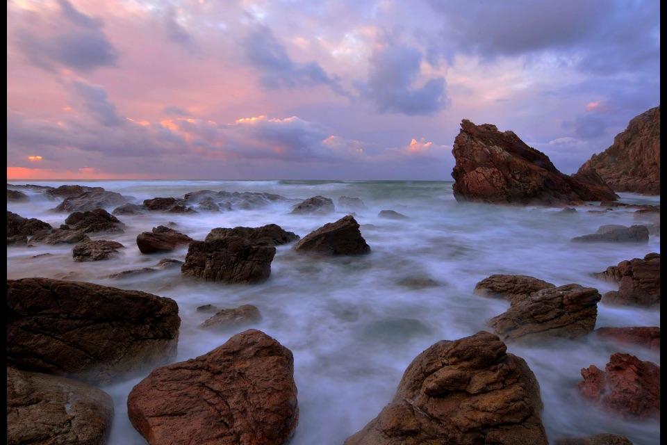 Atardecer na Costa da Morte