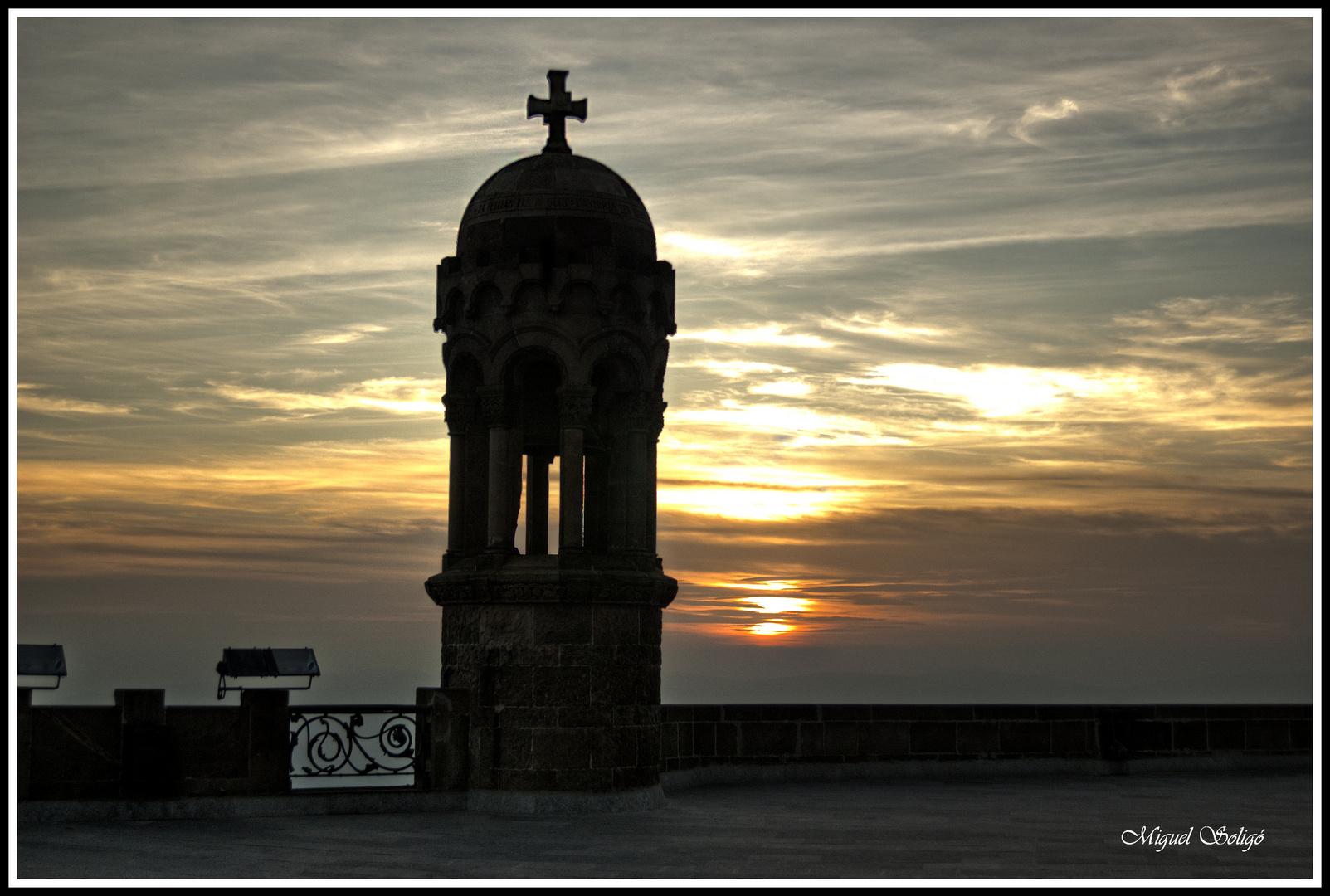 Atardecer Tibidabo(Barcelona)