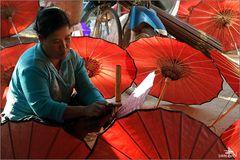 Atelier de parasols
