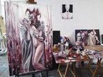 Atelier: peinture terminée!