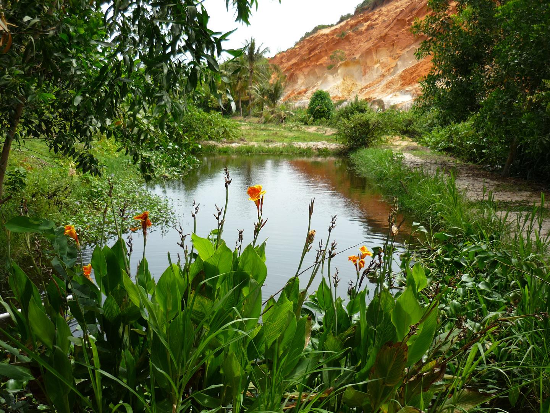Atemberaubende Landschaft in Mui Ne, Vietnam