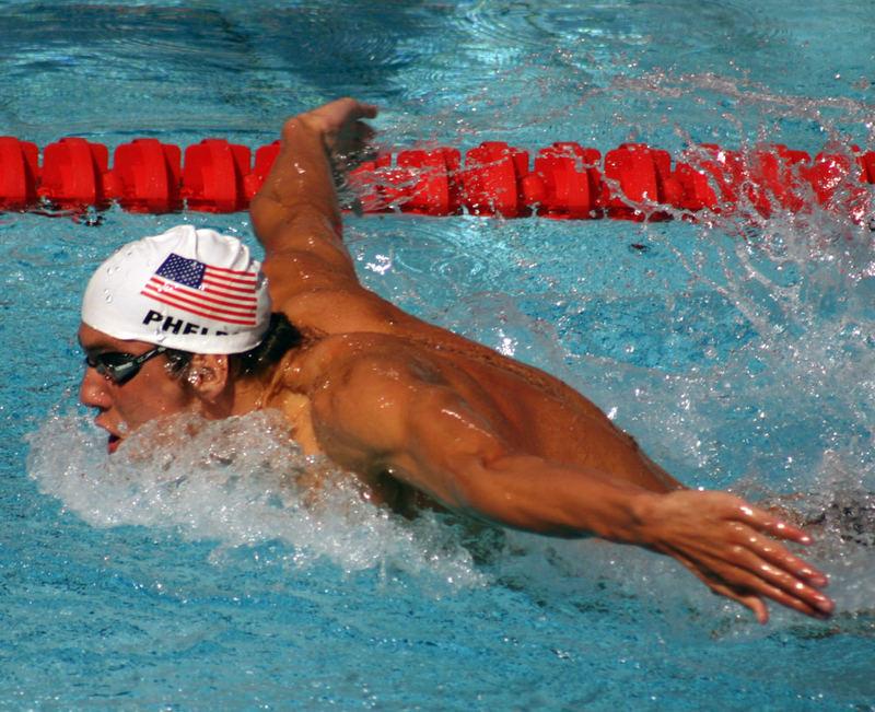 Atene 2004 - il re del nuoto