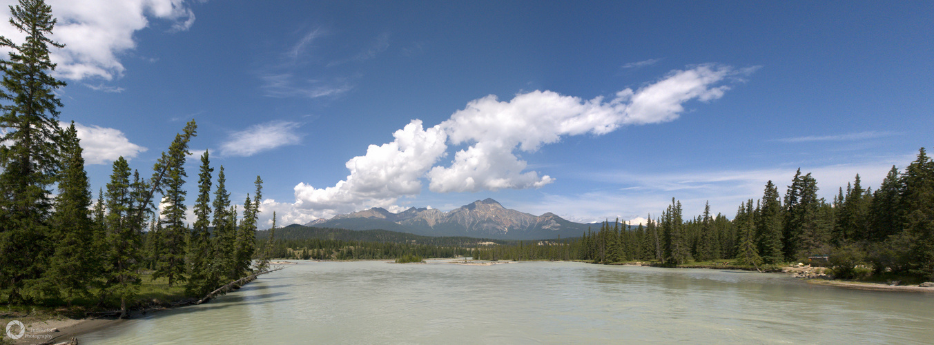 Athabasca river - Jasper