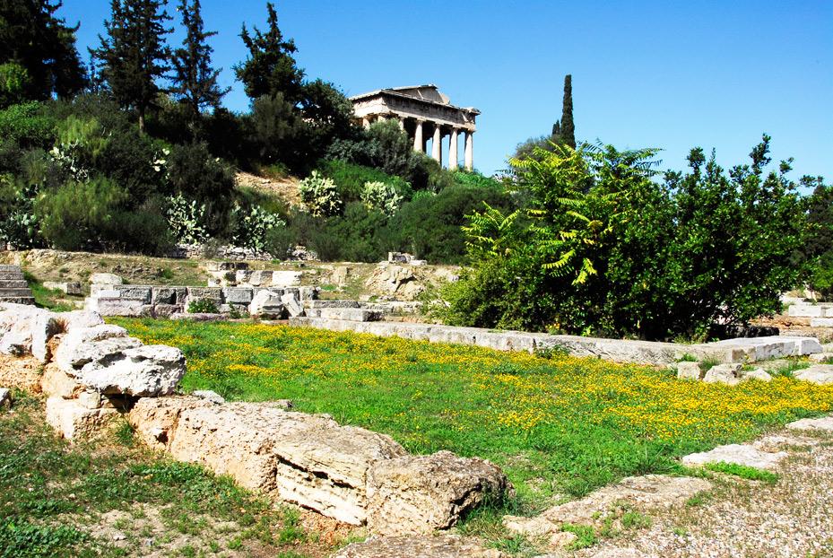 Athen - Hephaistos Tempel