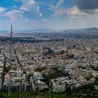 Athen im Gewitter