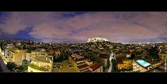 Athen @ Night - Panorama
