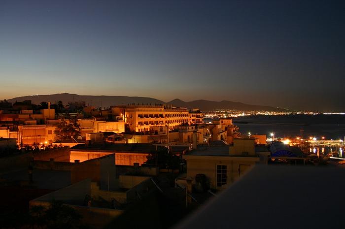 Athen/Piräus Morgendämmerung