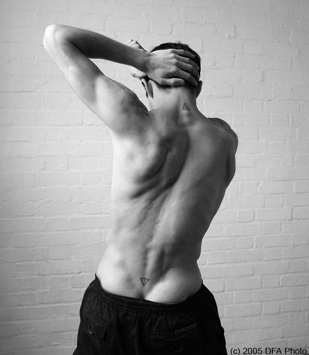 athlete's back