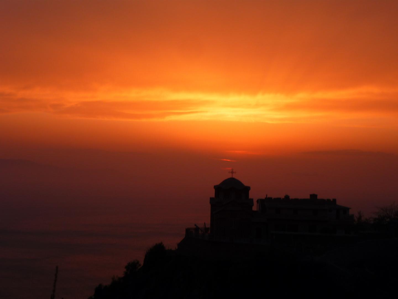 Athos Sunset