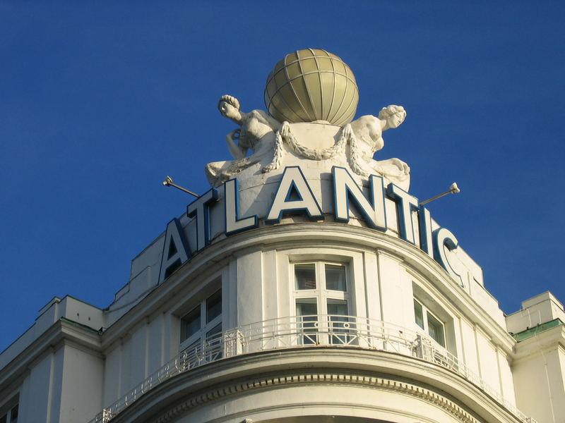Atlantic bei bestem Wetter