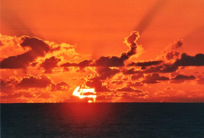 Atlantik- sunset