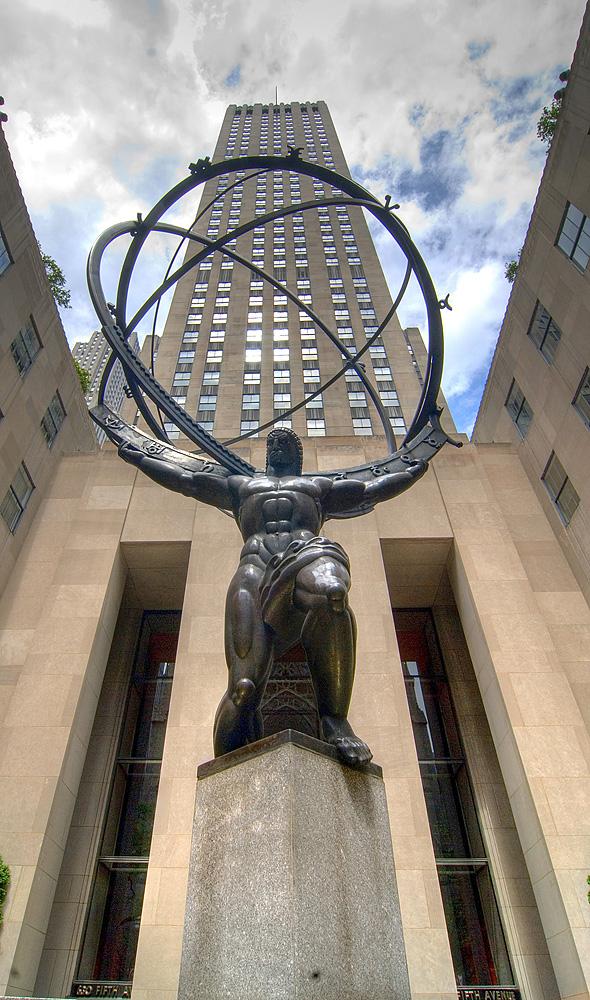 Atlas am Rockefeller (Lee Lawrie)