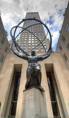 Atlas am Rockefeller (Lee Lawrie)