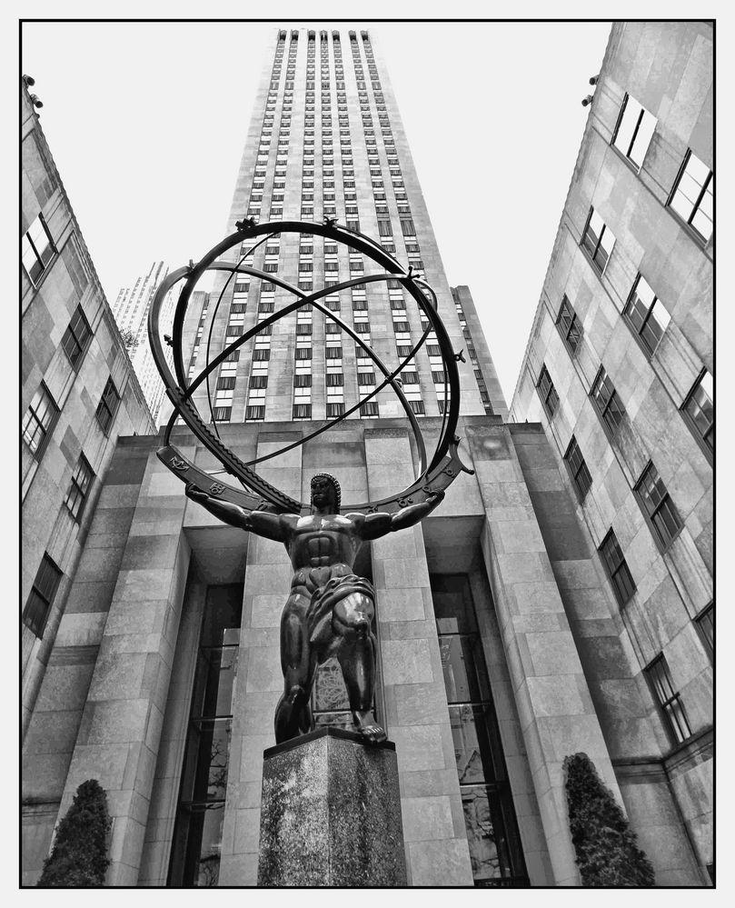 Atlas at Rockefeller Center
