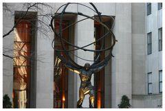 Atlas Statue - Rockefeller Center NY