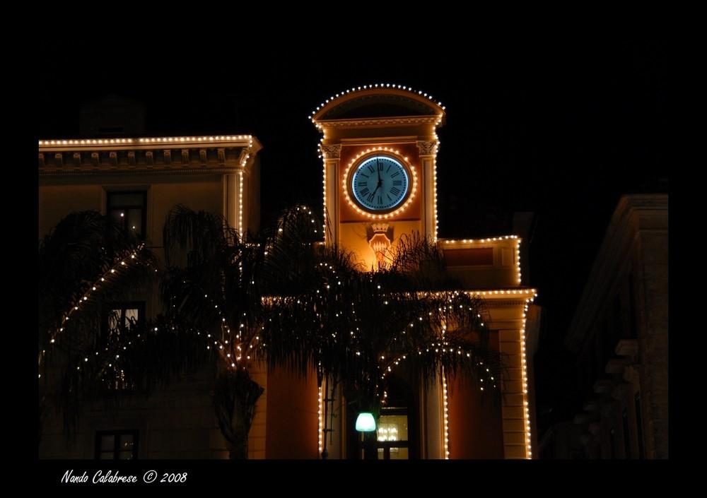 Atmosfera natalizia a Sorrento