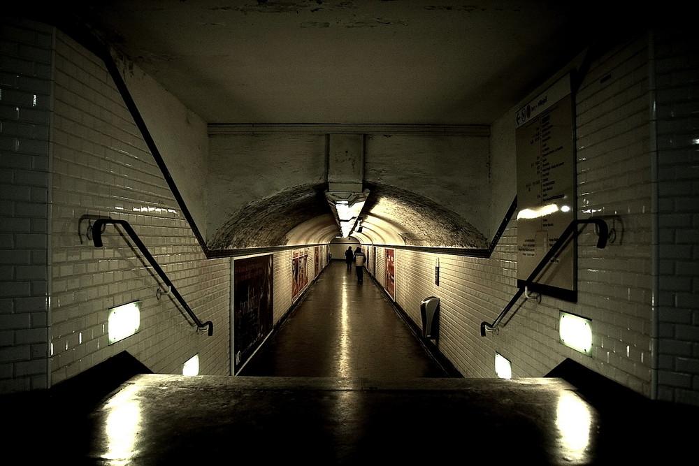 Atmosphere du métro