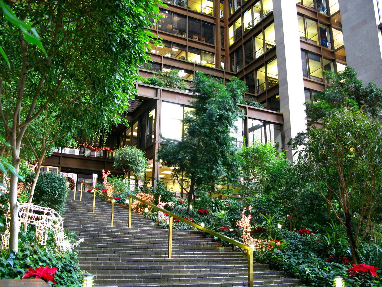 Atrium der Ford Foundation