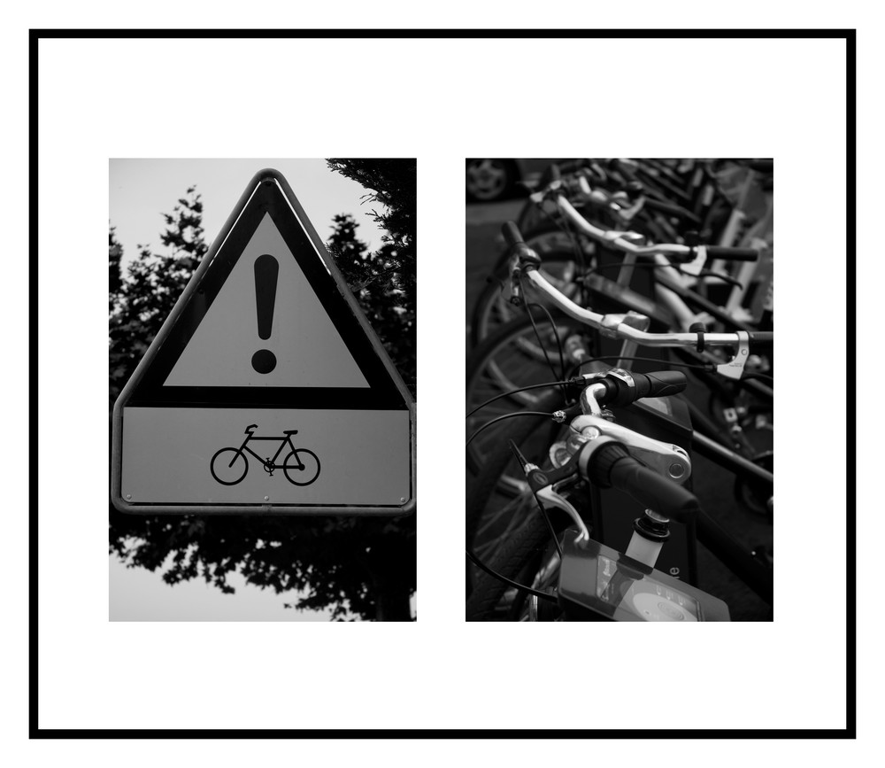 Attention vélos