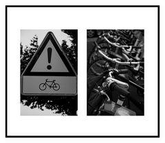 Attention vélos
