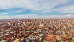 Atterrissage à El Alto