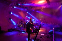 Attila am Keyboard