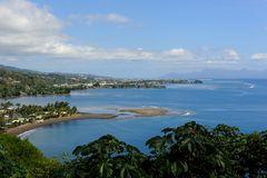 Au belvédère du Tahaara, Tahiti