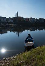 Au bord de la  Loire