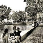 Au canal Saint-Martin. 5.