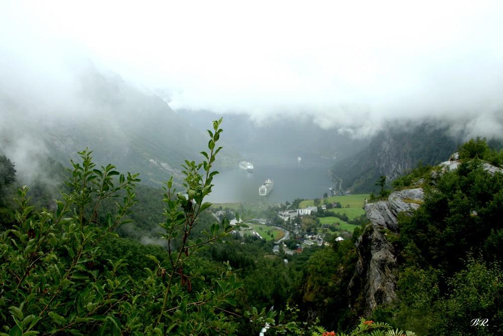 au fond du fjord