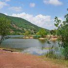 Au lac du Salagou...