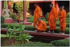 Au musée national de Phnom Penh