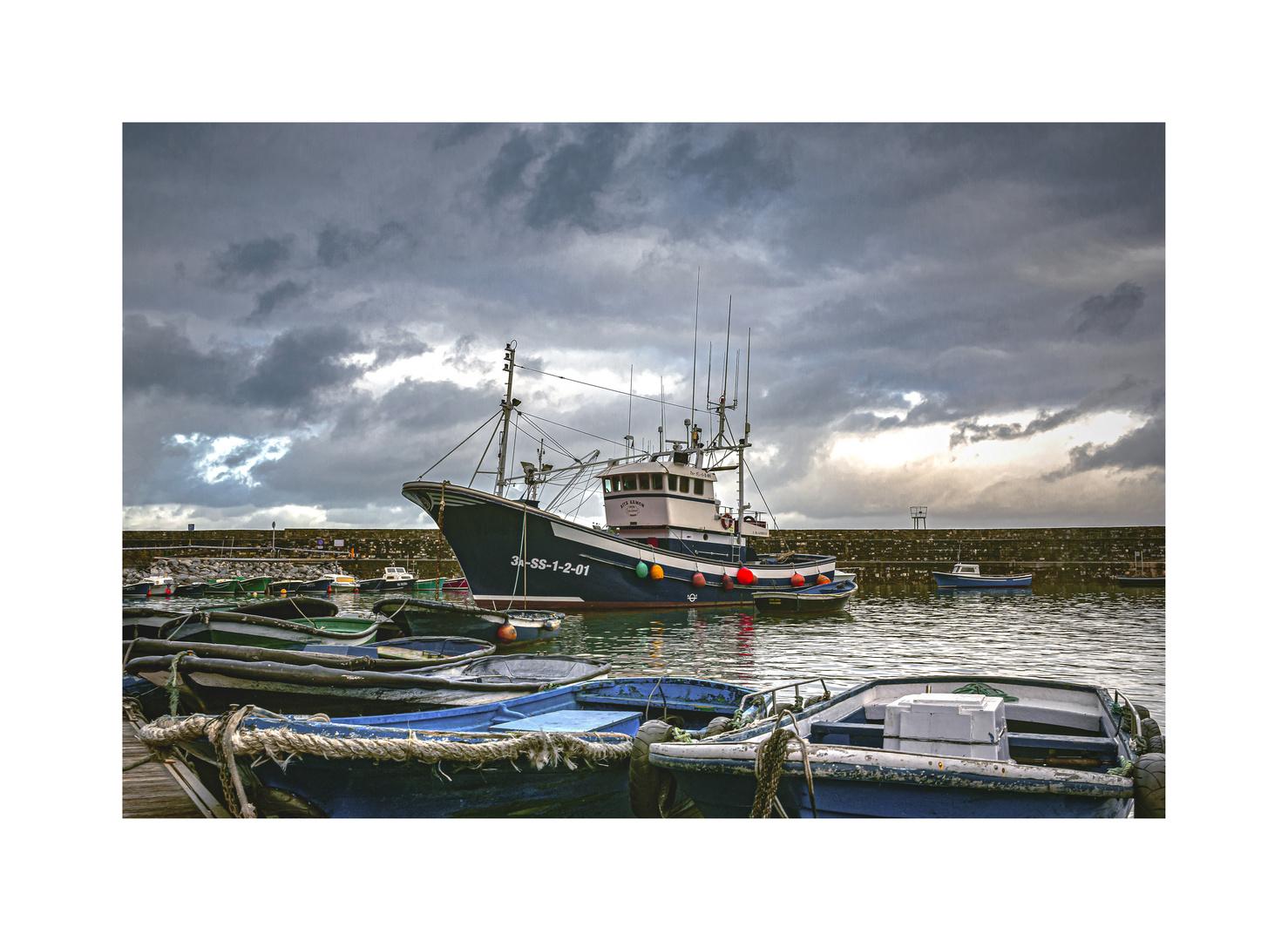 Au port de Fuenterrabia