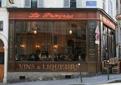 Au Progrès, Pigalle, Paris, ext.