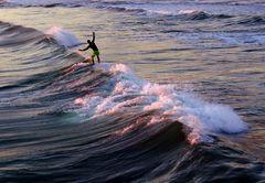 au rythme de la vague ...