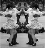 Au rythme redoublé du tango...