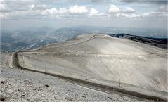 Au sommet du Mont Ventoux