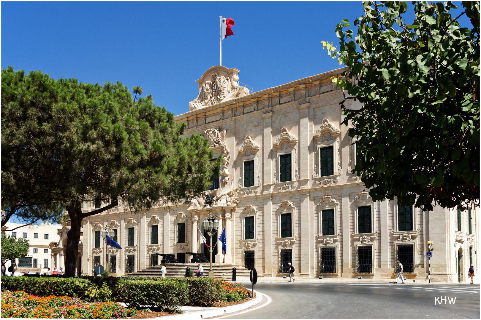 Auberge de Castille - Sitz des Ministerpräsidenten von Malta