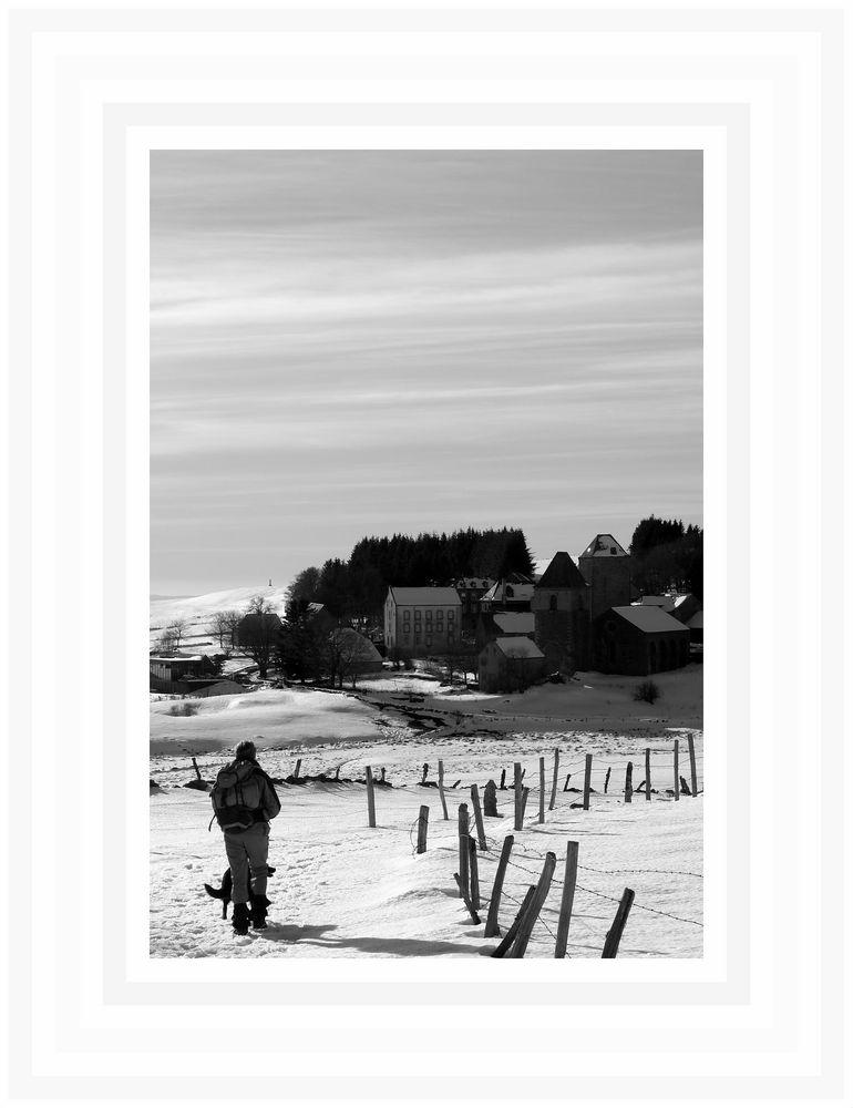 Aubrac :Chemin de Compostelle