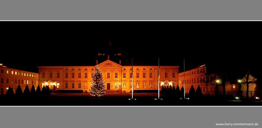Auch bei Gauck's ist Weihnachten