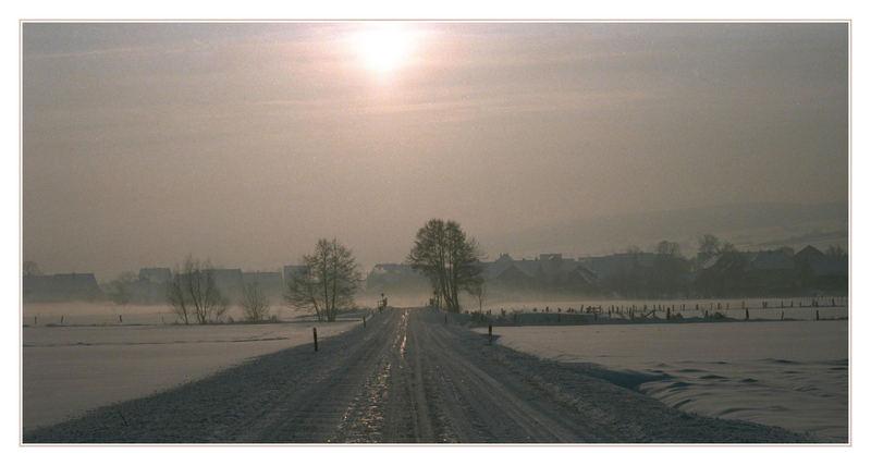 auch bei uns ist jetzt Winter :o)