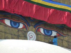 ...auch Buddha muß mal ein wenig angehübscht werden...