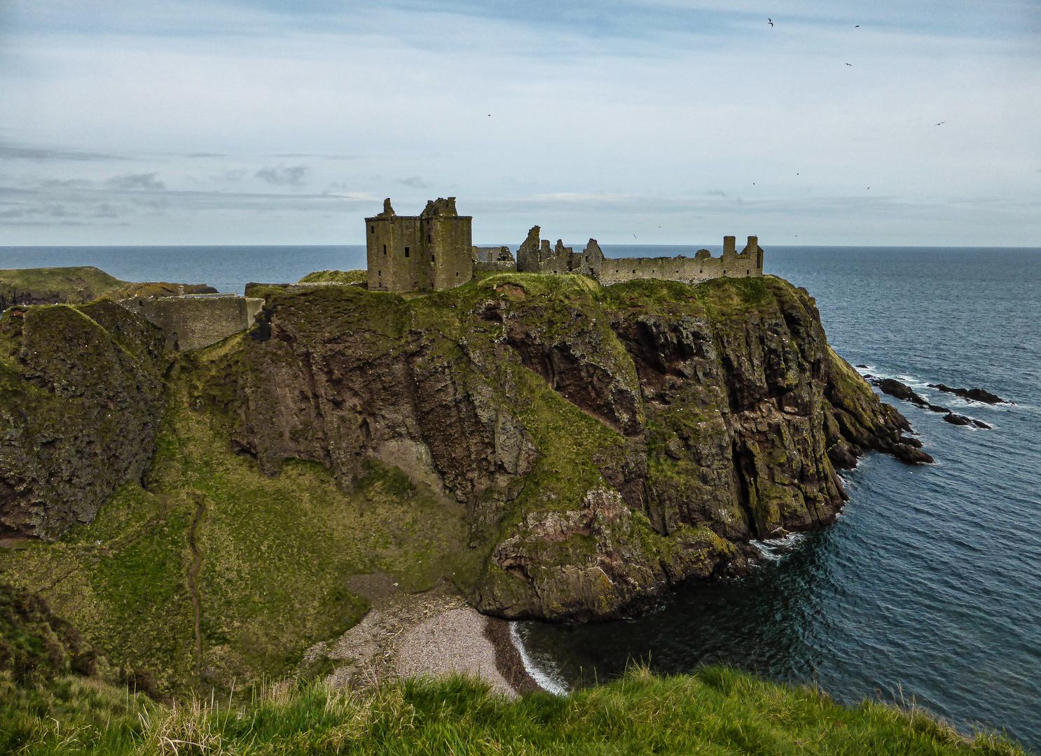 Auch das Dunotar Castle....