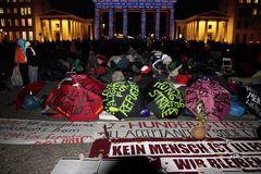 Auch das ist Berlin: Hungerstreik für Asyl