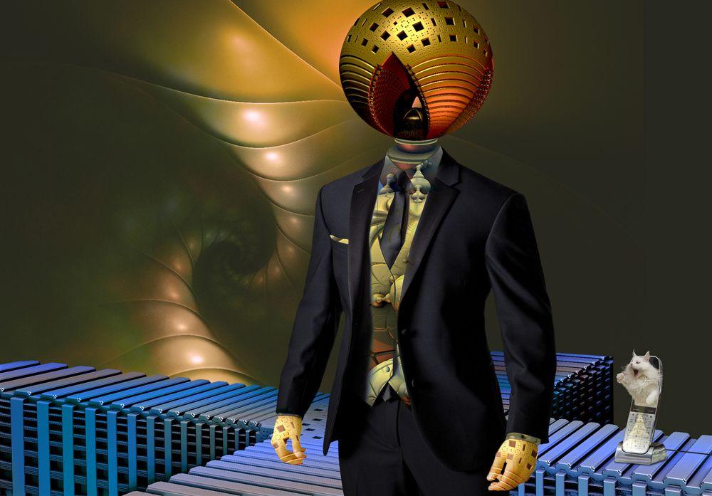 Auch der erfolgreiche fraktale Businessman von heute ...