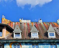 - auch die Dächer gehören zur Fassade ...