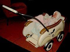 Auch die Kinderwagen.....
