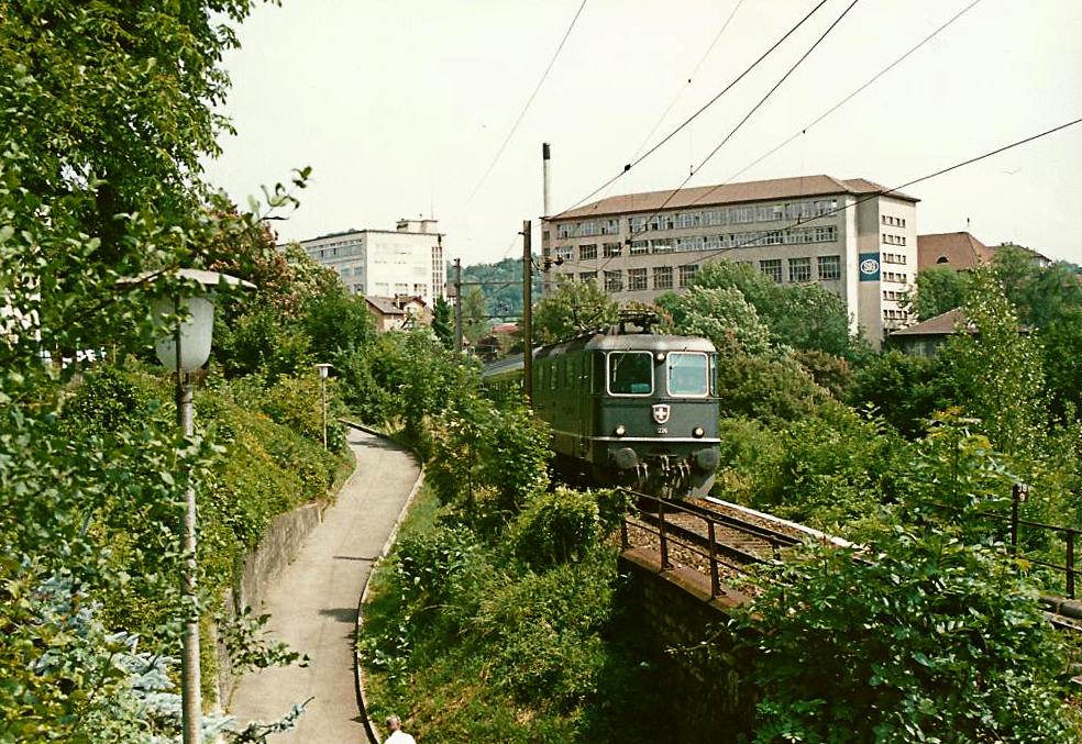 Auch die Schweizer Bahnen