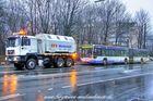 Auch ein Bus muss mal abgeschleppt werden, diesmal WSW 0264